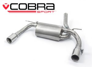 BMW 320D Dual Exit Exhaust by Cobra Sport
