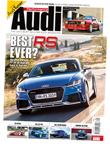 Performance Audi Front Cover - September 2016