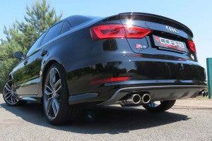 S3 Saloon Quattro Sports Exhaust
