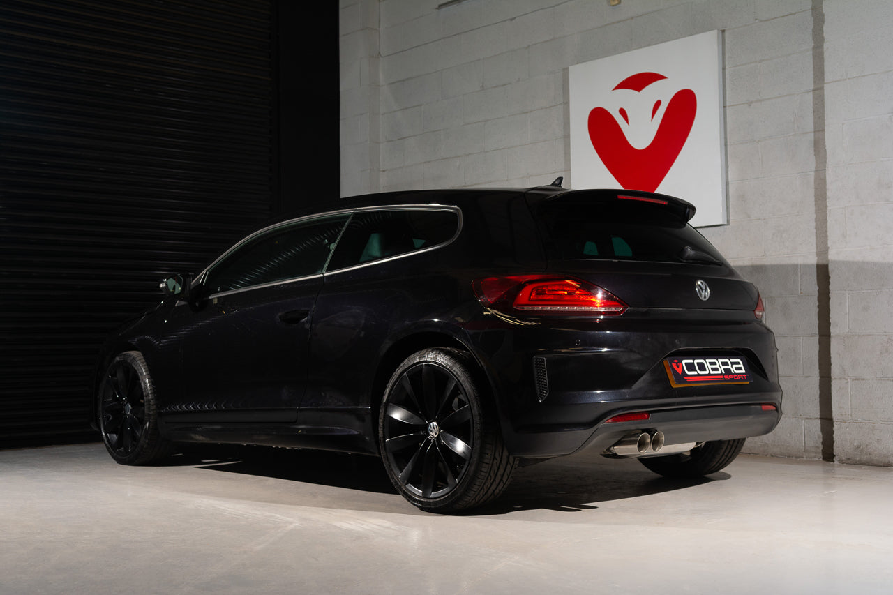 VW Scirocco 2.0 TSI GT / R-Line Cat Back Cobra Sport Exhaust