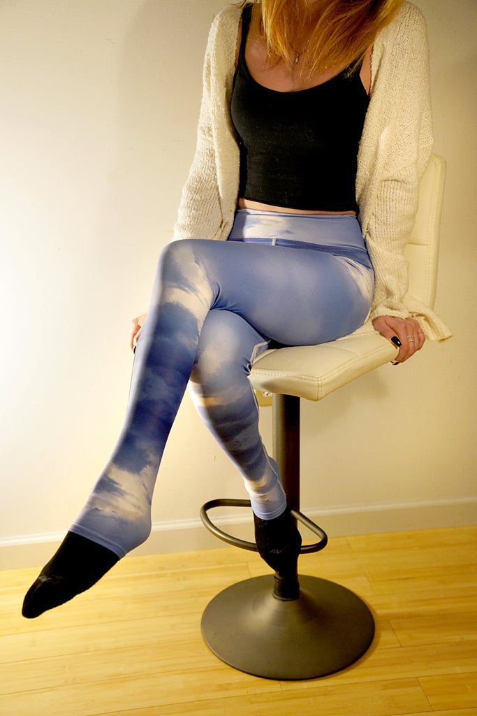 Yoga Leggings Galactic Sky Series 3