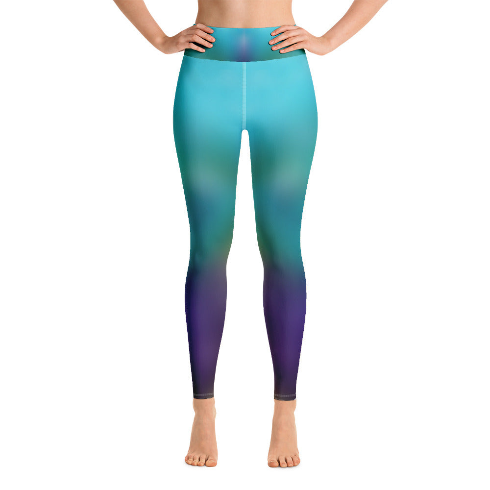 Yoga Leggings Galactic Blur Series 9