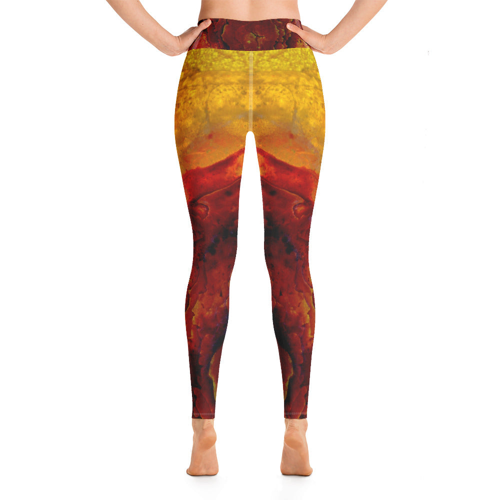 Yoga Leggings Galactic Snow Series 1