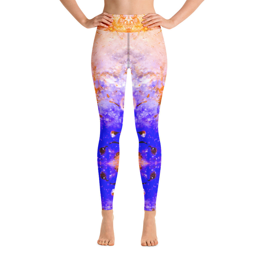 Yoga Leggings Galactic Snow Series 7