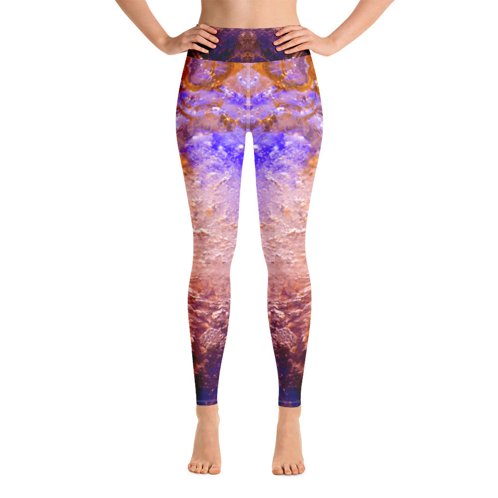 Yoga Leggings Galactic Snow Series 4