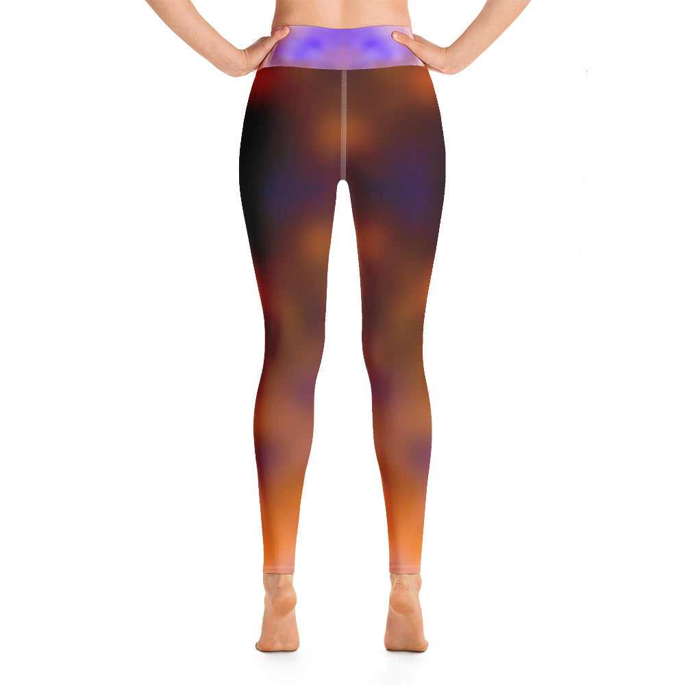 Yoga Leggings Galactic Blur Series 20