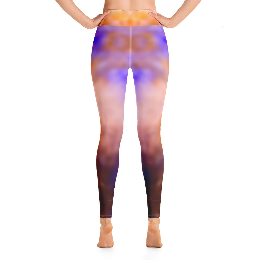 Yoga Leggings Galactic Blur Series 22