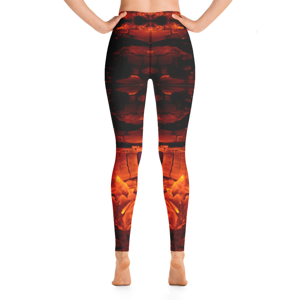 Yoga Leggings Galactic Fire Series 13