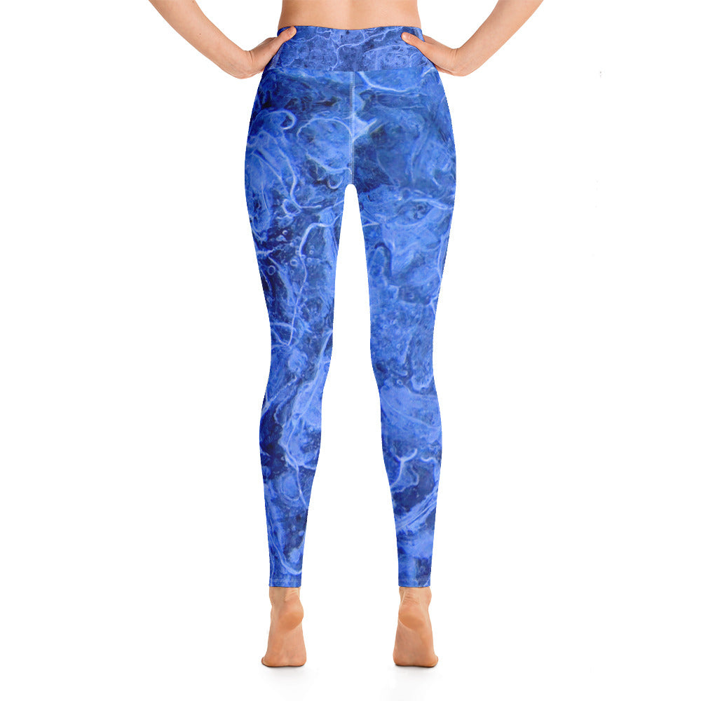 Yoga Leggings Galactic Ice Series  1000