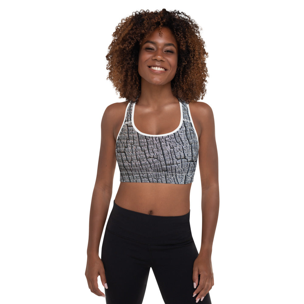 Padded Sports Bra Galactic Fire Series 4