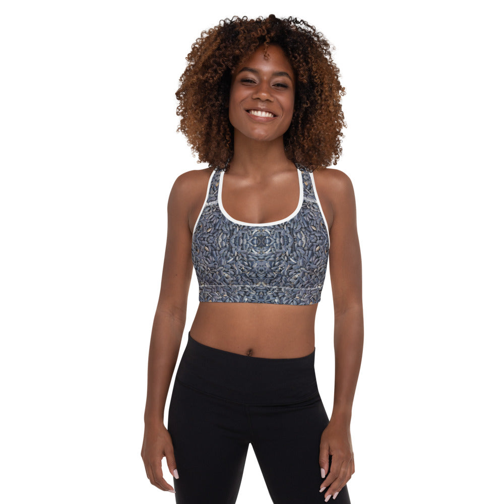 Padded Sports Bra Galactic Seed Series 8