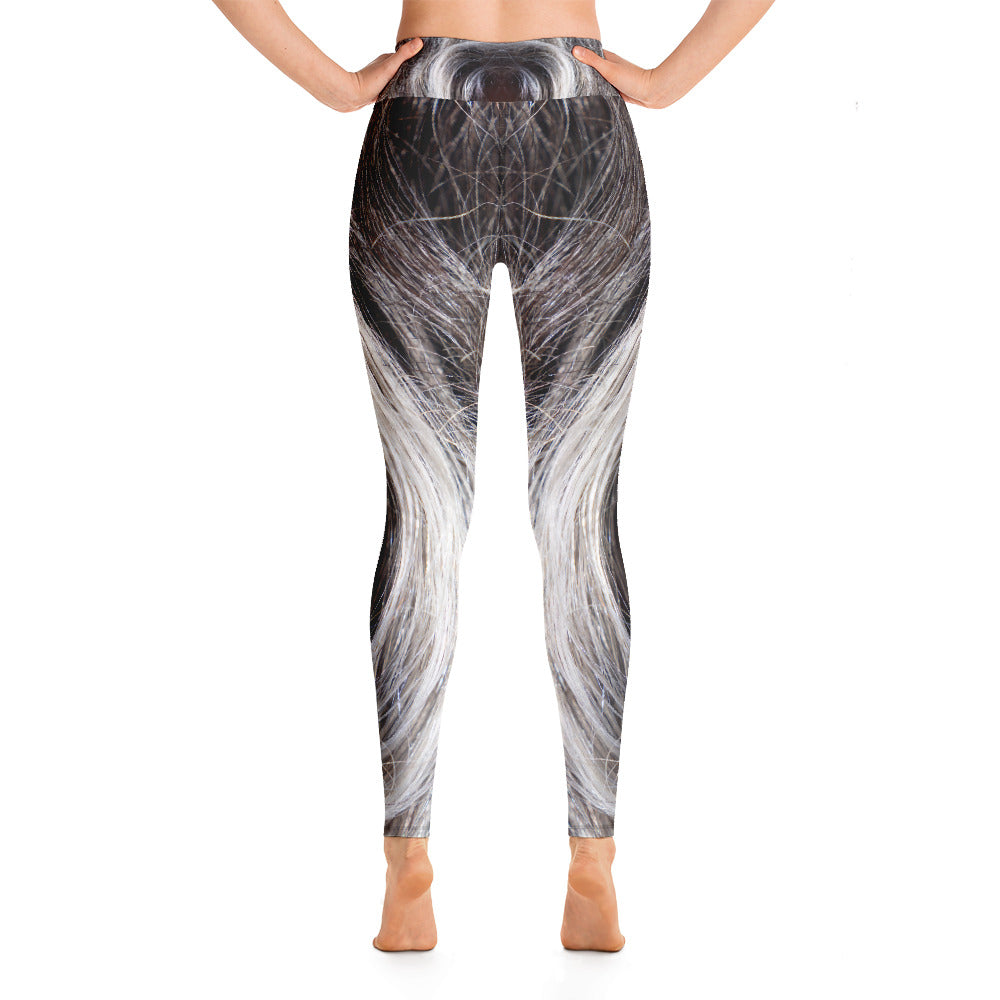 Yoga Leggings Galactic Hair Series 55