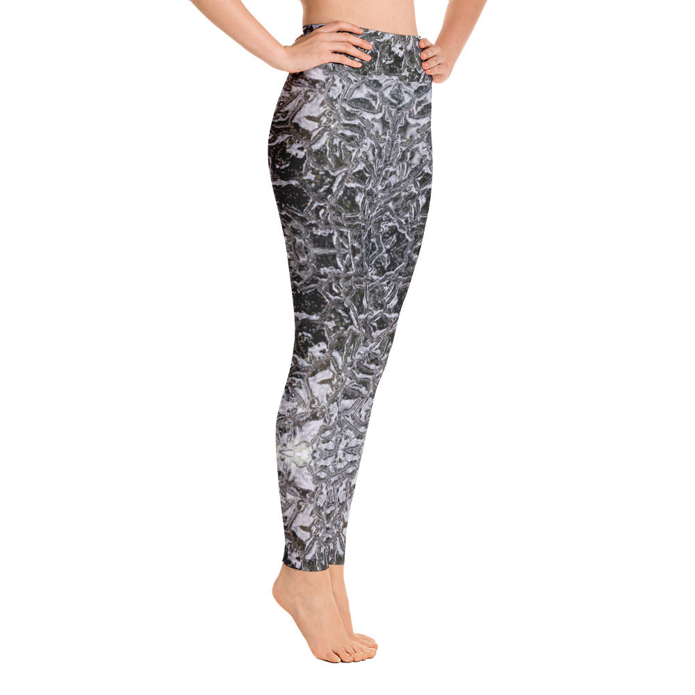 Yoga Leggings Black Ice Series 2