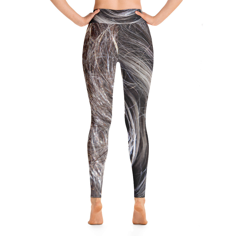 Yoga Leggings Galactic Hair Series 51