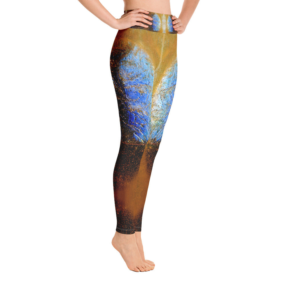 Yoga Leggings Ice Ancestor Series 9