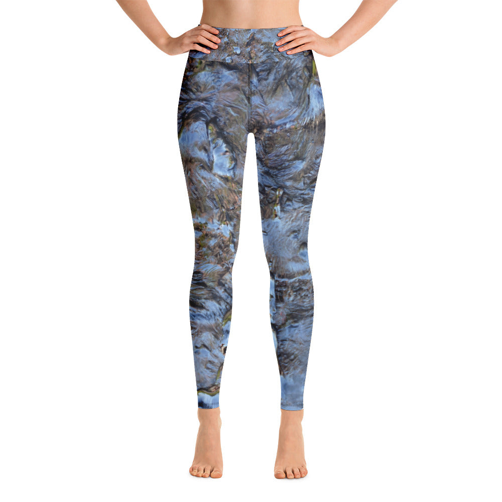 Yoga Leggings Black Oil Series 2