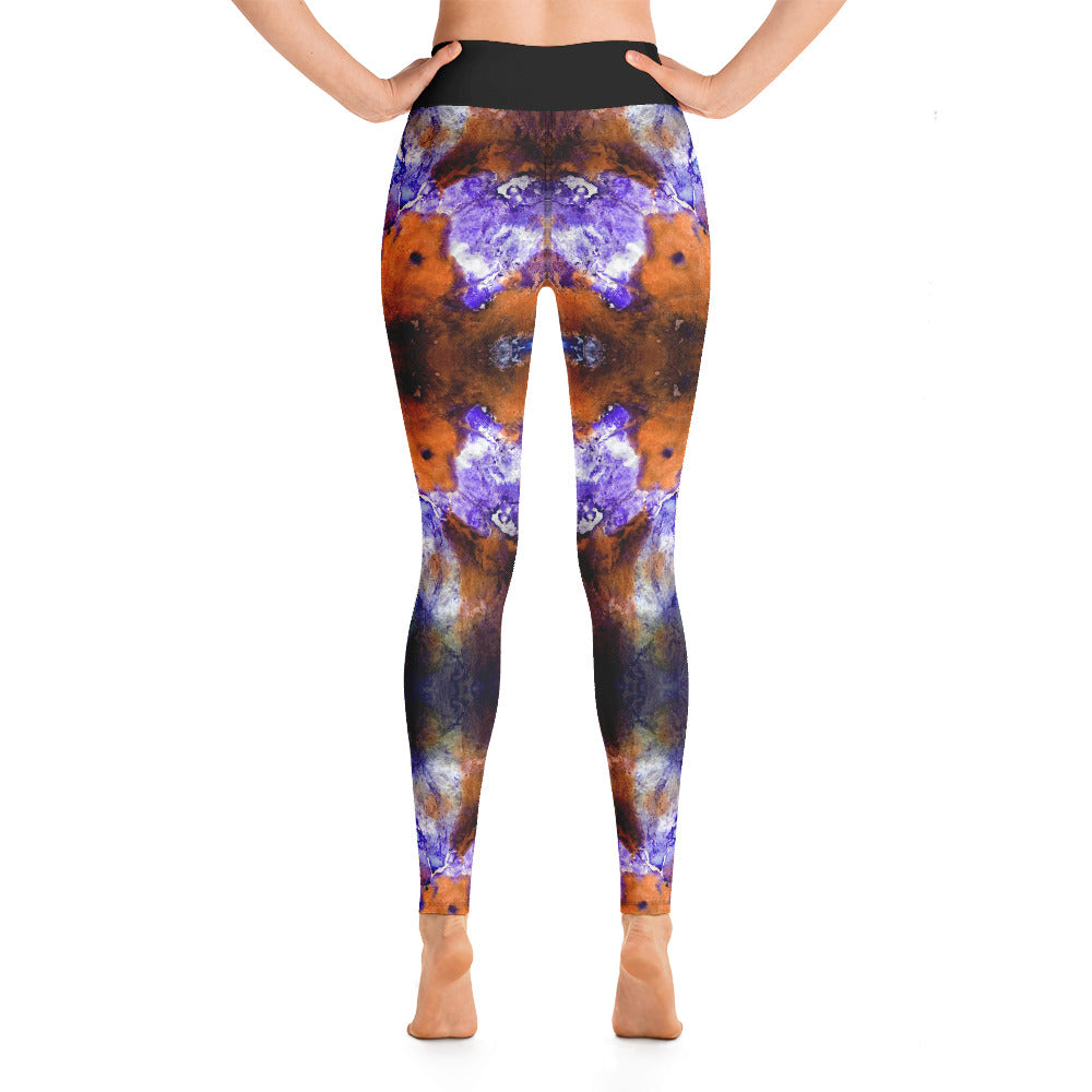 Yoga Leggings Ice Ancestor Series 26