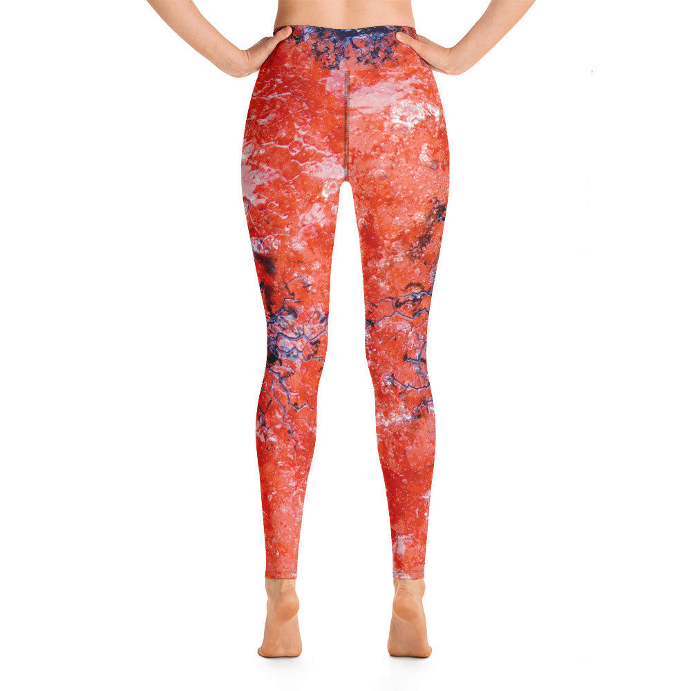 Yoga Leggings Ice Ancestor Series 23