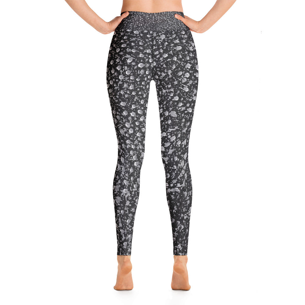 Yoga Leggings Galactic Rain Series 1