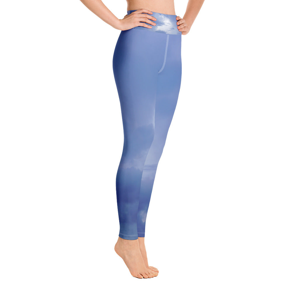 Yoga Leggings Galactic Ancestor Sky Series 2