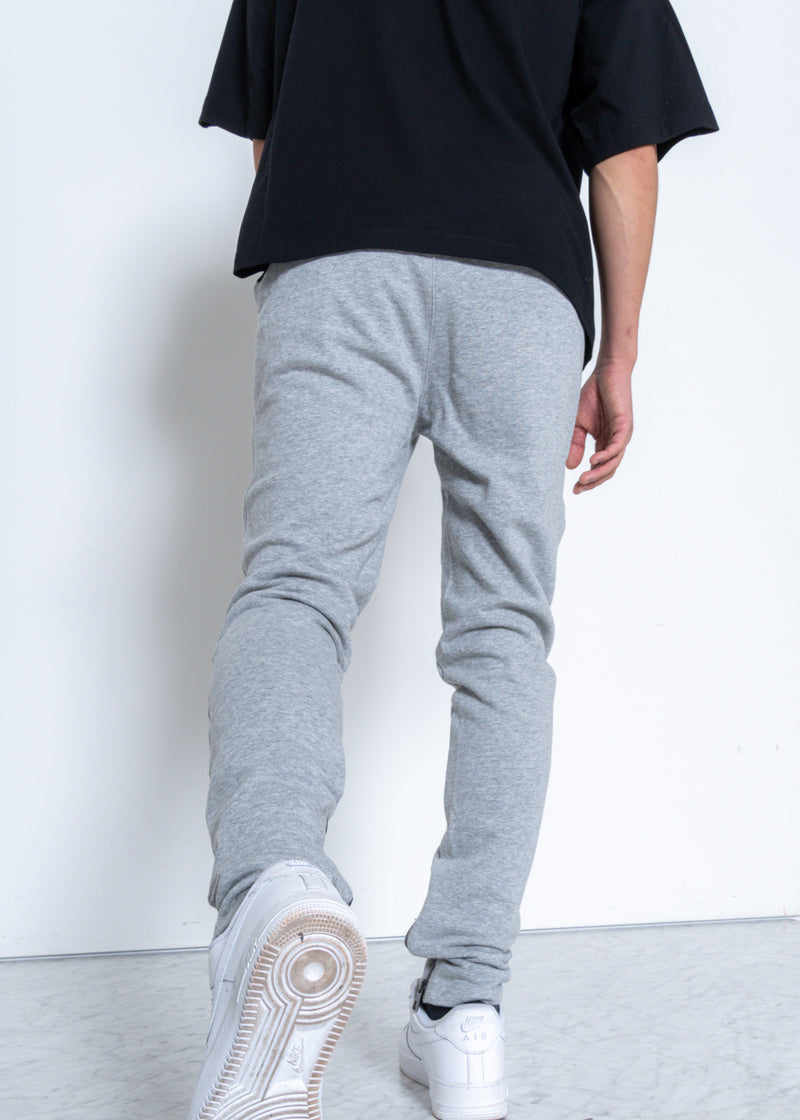 Konus Men's Heather Grey French Terry Sweatpants w/ Zipper Pockets - SEO Optimizer Test