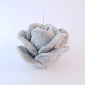 "Design candle ""Rose"", ⌀10x6 cm, red"