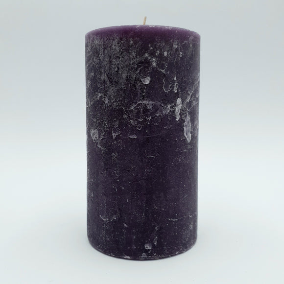 Candle cylinder ⌀ 10x18 cm with one wick, beige