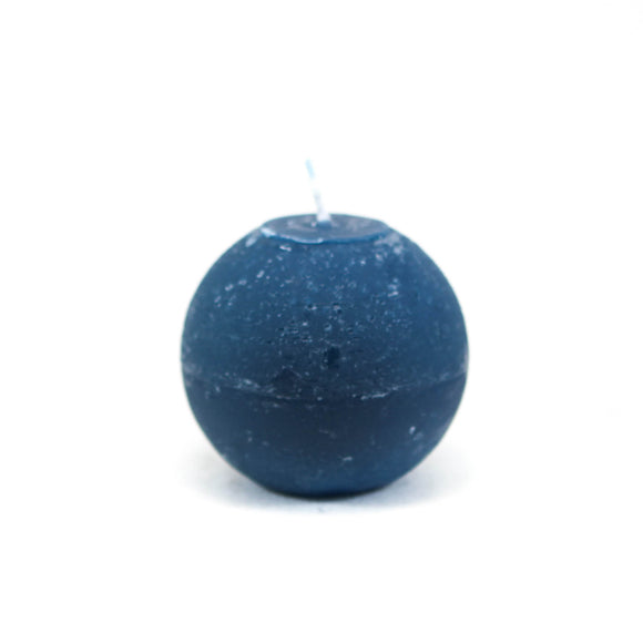 Candle ball ⌀ 8 cm, dark turquoise