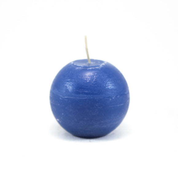 Candle ball ⌀ 8 cm, pigeon blue