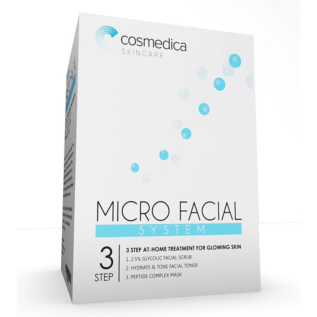 MICRO FACIAL SYSTEM 3 Step At Home Treatment For Glowing Skin - Cosmedica Skincare  - 1