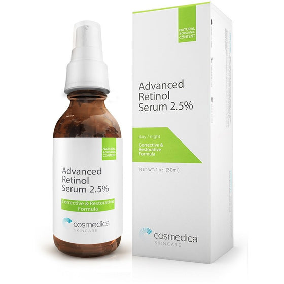 NEW! ADVANCED RETINOL SERUM 2.5% - Cosmedica Skincare  - 1