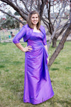 Caterina  A6017F Taffeta 2-Pc. Full Length Gown with Jacket