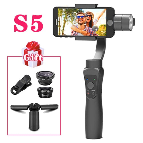 Smartphone 3 Axis Gimbal - Orsda S5 Active with Face Tracking