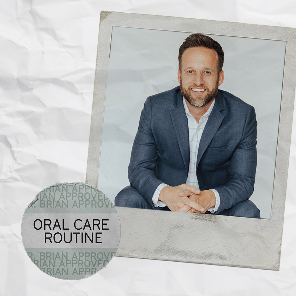 CELEB DENTIST & FOUNDER DR. BRIAN SHARES HIS ROUTINE