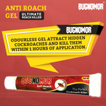 Bugnomor Anti Roach Spot Gel Super Power Cockroach Killer 20g Set of 6