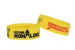 Wristband 30 mm Silicone Rubber Loop Band - Cristiano Ronaldo Footballer Club - CR7