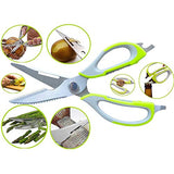 Scissors Vegetable Cutter 10 in 1