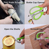 helpful in scalling fish bottle opener opening the shell and used as screwdriver