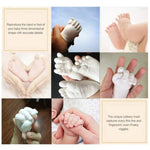 3D Mould Clone Cast Casting Powder | Hand Cast | Foot Casting Molding Powder for Baby Lifetime Memories 450g KIT PLUS