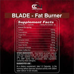 CANADA NUTRITION Blade Fat Burner with Green Tea Ext, Green Coffee Ext, Chromium | Reduces Fat | 60 Capsules