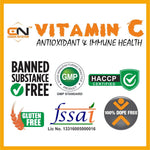Canada Nutrition Natural Vitamin C & Zinc Tablets 500 mg | Immunity Booster | Antioxidant | Skincare Orange Flavour | Vegan & Keto Friendly | Organic Vitamin C Source | Orange (60 chewable tablets)