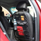 Car Back Seat Organiser Storage Bag Hanging Mesh Pockets Multi Compartments Tidy