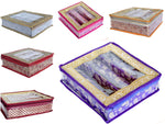 3 ROW BANGLE CASE BOX POUCH BEST QUALITY IN BEST PRICE (MULTI COLOR)