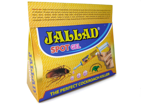 Jallad Anti Roach Spot Gel Ultimate Cockroach Killer Guaranteed Powerful Effect Injection Container, 30g