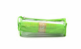 Satin premium Bangle Roll Pouch (F.Green, Large) 1 Pc