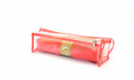 Satin premium Bangle Roll Pouch (F.Orange, Large) 2 Pc