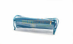 Satin premium Bangle Roll Pouch (Ferozi Blue, Large) 1 Pc