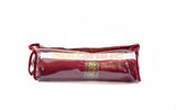 Satin premium Bangle Roll Pouch (Maroon, Large) 1 Pc