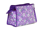 Multipurpose Morning Travel Cosmetic Medicines Make Up Pouch kit (Cotton Purple)
