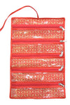 Payal Chain Necklace Jewellery Wrist Watch Pouch Roll Organiser